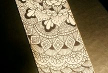Zentangles Flowers / by Sharon Colpitts