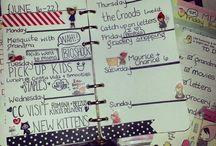 My planner / by Randi Brook