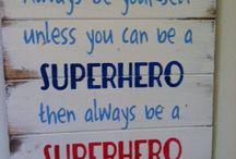 Boys Superhero Room / by Ashley Utile