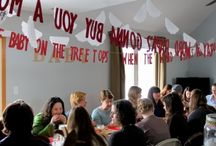 Parties: Dinner Party Decor / Party Decor ideas for Dinner Parties / by Jenni Bost