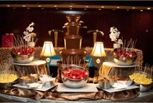 Delicious Desserts / Cookies, candy, pies, cupcakes, s'mores, cotton candy, and chocolate for the dessert table / by Weddings in Houston Magazine