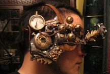 Steampunk / Steampunk takes elements of modern technology and antiquated mechanical parts and re-imagines them into devices and contraptions that look like they were created by Jules Verne or someone in the Victorian era. / by Linda Williams