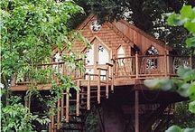 Treehouses / by Sandra Maple