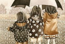 Walkin in the Rain, yeah! / by Winnie Adams