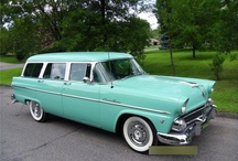 Station Wagons / My love of wagons started when I was young and we went on vacation, my brother and I in the back with coloring books. Raising 3 girls I've had my share. This board is dedicated to a dieing breed. I love them all :) / by Bob Bucklin