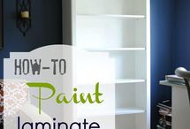 Furniture Finishes Painting Laminate / by Liz Eggers