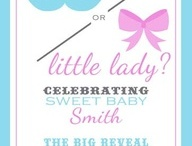 Gender reveal party ideas  / by Mariko Wiles