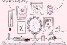 Makeup counter  / by Madison Brooks