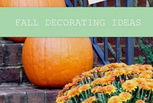 Fall Decor / Ideas for fall decor around the home! / by Vanessa Graves