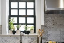kitchen backsplash / by Lisa Buber