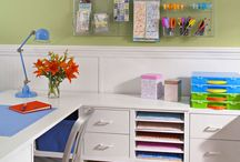 Craft Room Ideas / by Carolyn Combs