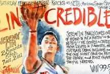 Linsanity 2012  / Game by game recap of Linsanity 2012; all illustrations by Joe Petruccio.   / by Harold Cabezas