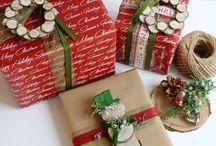 Christmas gift wrapping ideas / by Tara Thompson