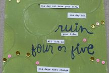 Art Journal / by Christine Bannister