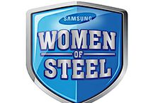 Samsung Celebrates Women of Steel / Nominate your Women of Steel on Facebook to enter to win a kitchen suite and other prizes!  / by Samsung Home