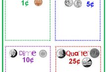 Math Ideas - Money / by Connie Moore