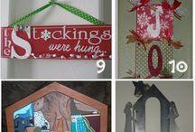 CHRISTmas crafts / by Rhonda Camp