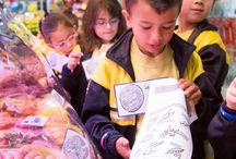 Visites Escolars / Programa Educatiu / by Mercats de Barcelona
