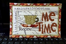 Fabric postcards / by Debbie Bacot