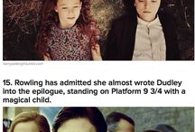 Harry Potter fun facts / by Molly Beatty