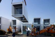 Container homes / by Kellie Babb-Ward