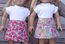 dolls clothes patterns / by Toni Tomlinson
