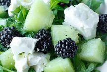 Good Eats- Rabbit Food / Green salads, meal salads, salad dressings / by Lara Streck
