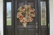 Front Doors, Porches, Wreaths / by Trina Cokinos