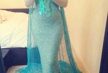 Elsa dress / by Heather Hargan