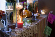 Dia de Los Muertos celebration  / by Lisa Sarick