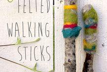 walking sticks and summer fun / by Monika Cutchens