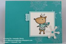 Stampin' Up! Christmas cards / by Be Creative With Nicole