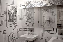 Nana~ Bathrooms / by PugZilla Pui