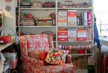 Craft Rooms / by Crafty Magazine