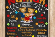 James turns 2 Daniel Tiger time! / by Connie Kincaide