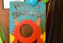 Aidens 1st Birthday / Monster Birthday  / by Ashley Miranda