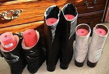 closet organizing / by Margaret Klassen