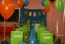 Logan's Monsters Inc Party / by Katelyn Graves