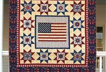 Americana quilt projects / by Grandma's Pearl