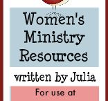 FAITH ~ WoMeN 'n' Ministry / Women of the Bible & their examples to us today. Ministry ideas for women in the church. / by Deborah Schuerman