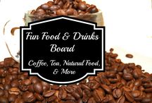 Fun Food & Drinks / Delicious food, drinks, natural food, & more. This board includes reviews of products I have tried or things I am hoping to try soon.  / by Susan Bewley