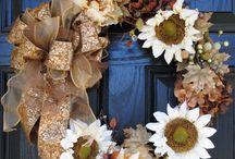 wreaths / by Pat Bader