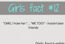 girl facts / by masiel pena