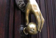 ON THE DOOR / by Kay Droege