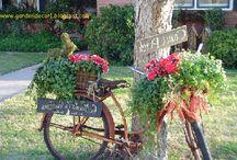 garden decor / by Gina Hagen