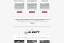 Web design lawyer / by Kristin Designs