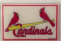 "My St. Louis Cardinals # 1 / What can I say, I love the Cardinals.  They have won 11 World Series and for us, this was a family activity, either go to the game in St. Louis or turn on the radio and listen to the great Jack Buck, he let you ""SEE"" the game over the airways.  When our 3 sons passed away, they all had all their stubs from all the games they had ever been to.  I still love to go to the stadium and root for the best All-American Team there is...the St. Louis Cardinals. / by Rita Diffenauer"