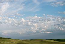 palouse mountain sky / by Studio Art Direct