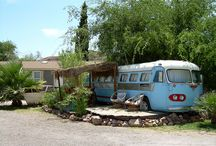 America's Wackiest & Best Camping Sites  / Across the country, creative camping sites are popping up with repurposed trailers, hot spring pools, historic sites and even a safari.  / by Peter Greenberg