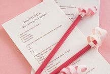 bridal shower ideas / by Jamie Day Atha